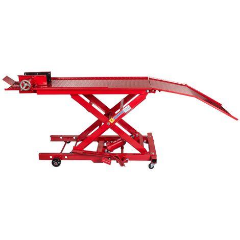 Table Elévartice Hydraulique Pont élévateur pour Moto 360Kg