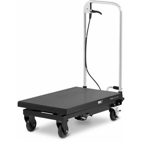 Table Élévatrice 150 kg Plateforme Hydraulique Mobile À Ciseaux 70x40cm 22-73cm
