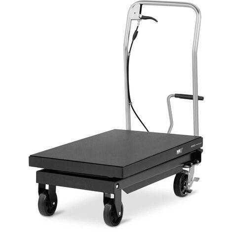 Table Élévatrice 500 kg Plateforme Hydraulique Mobile À Ciseaux 81x50cm 28-86cm