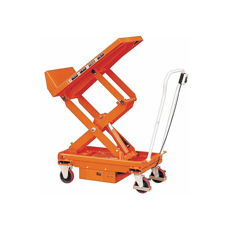 B. Table élevatrice électrique inclinable - Capacité 800kg