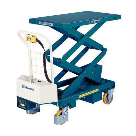 Table elevatrice electrique mobile - capacité 300 kg BISHAMON NEUVE declassee