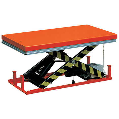 Table élévatrice électrique simple ciseau (plusieurs tailles disponibles)