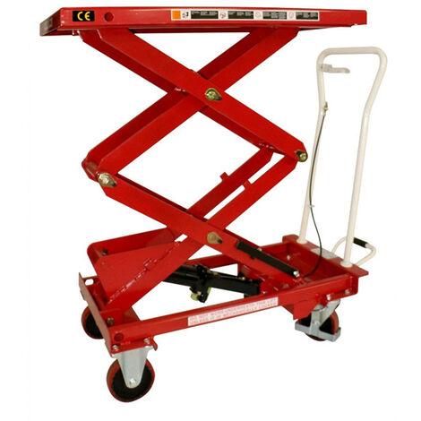 Table élevatrice grande hauteur manuelle (plusieurs tailles disponibles)