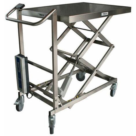 Table élévatrice inox électrique (plusieurs tailles disponibles)