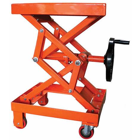 Table élévatrice manuelle à manivelle (plusieurs tailles disponibles)