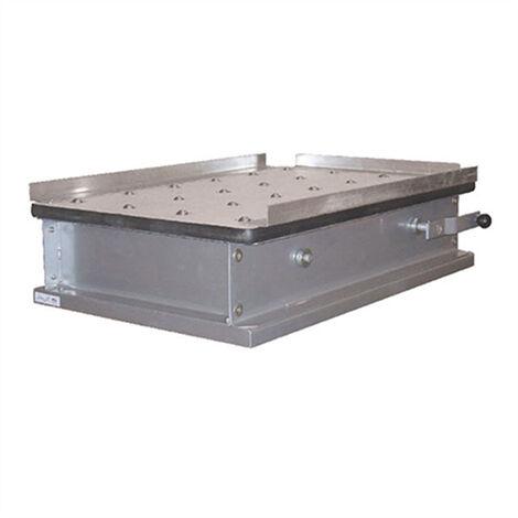 Table élévatrice manuelle avec plateau à billes