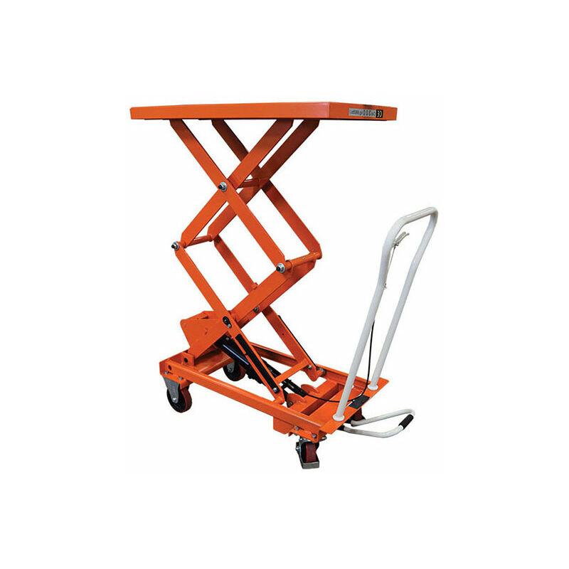 Transpalette Direct-matisere - B. Table élévatrice mobile haute levée - Capacité 800kg / Hauteur 1410mm