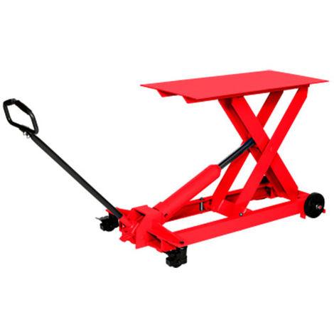 Table élévatrice manuelle extra-plate (plusieurs tailles disponibles)