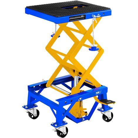 Table Elevatrice Mobile Pont Elevateur 4 Roues Avec Freins 135 Kg 35 - 87 Cm