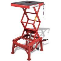 Table élévatrice rouge 135 kg Maja+ MJ210205