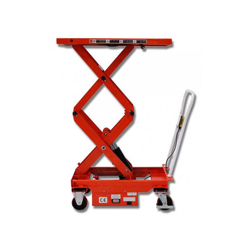 B. Table élévatrice semi-électrique haute levée - Capacité 800kg