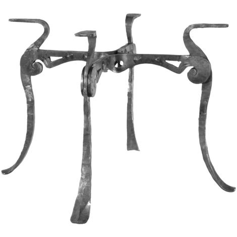Table en fer forgé en kit à fabriquer