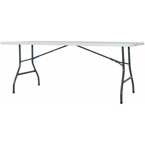 Table Valise Résine En Avec Structure Type Oskar180 Acier Pliante hQCxsrdt
