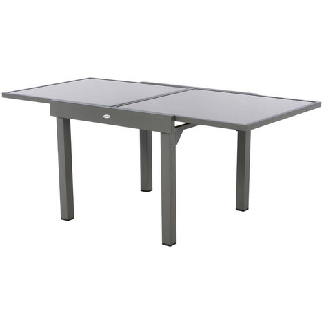 Taupe 48 En Carrée Table Extensible Piazza Places Verre OlwTkXZiuP