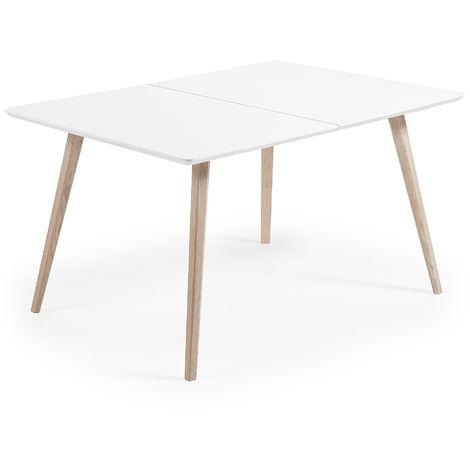 Table extensible Eunice 140 (220) x 90 cm + sac