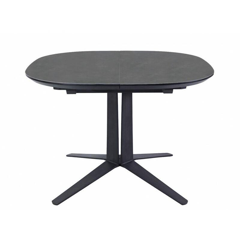 Table Extensible Ronde Ovale En Ceramique Diva 65087169