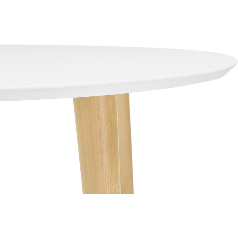 120220cm Scandinave 75 X Pegane Coloris Table Extensible Blanc 200 wOym8nvN0