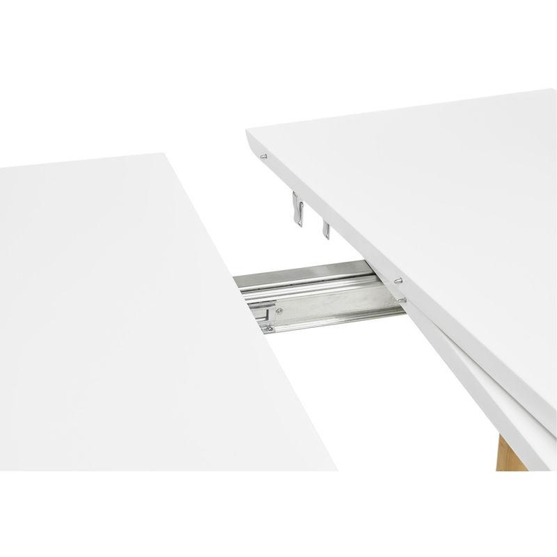 Extensible Coloris 75 Blanc Pegane 120220cm Scandinave X Table 200 EH2WD9I