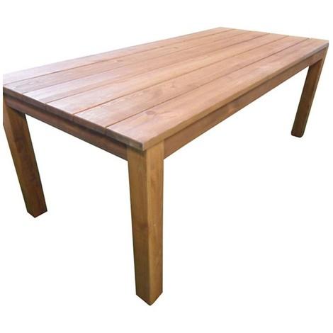 table ferme l.200x l 90 x h 74 cm