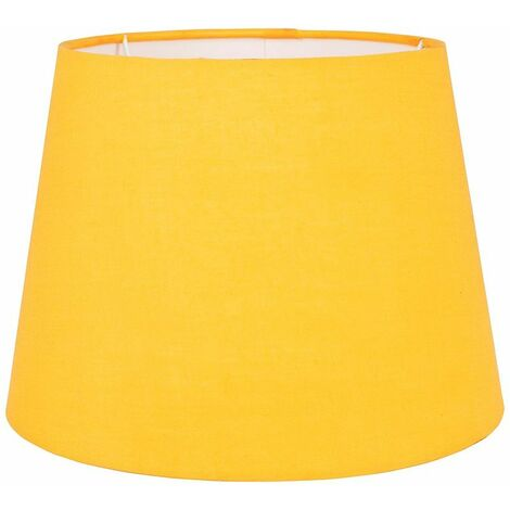 Table / Floor 25cm Tapered Lampshade - Grey - Grey