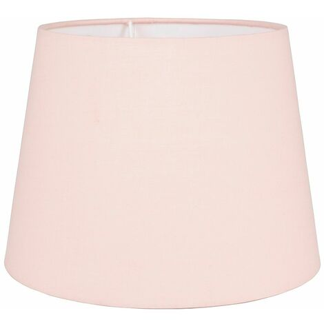 Table / Floor 25cm Tapered Lampshade - Pink - Pink