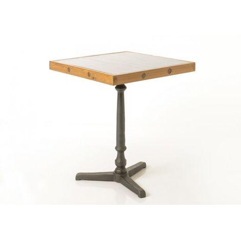 Haute Bistrot Métalteckgalva Bistrot Table Table Métalteckgalva Haute PXOiukZ