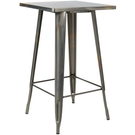 Table haute LIX Brossée