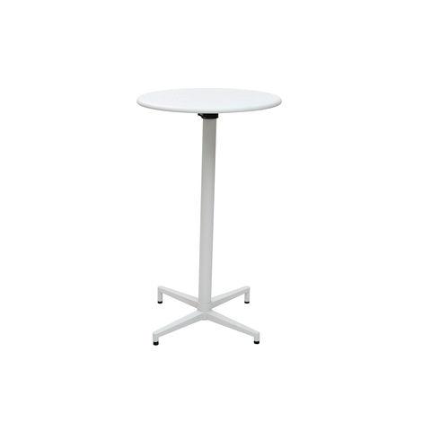 Table haute pliante ronde en métal DOTS