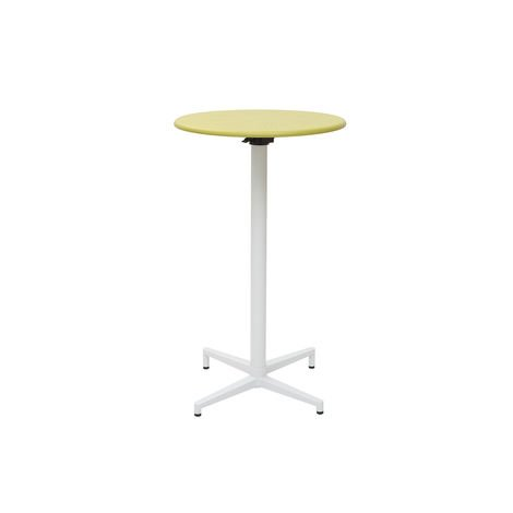 Table haute pliante ronde en métal DOTS