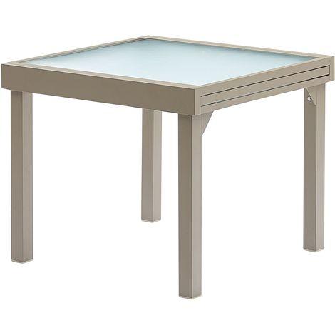 Table jardin Modulo 4 à 8 personnes Taupe - 603180