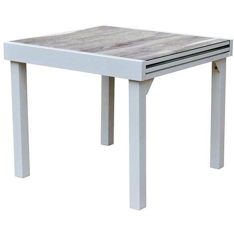 Table jardin Modulo 4 à 8 personnes Wood
