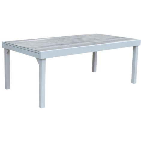 Table jardin Modulo 8 à 12 personnes Wood