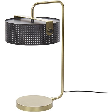 Table Lamp Black and Gold HENLEY