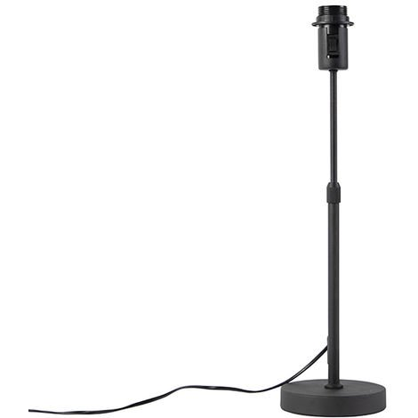 Table Lamp Black without Shade - Parte