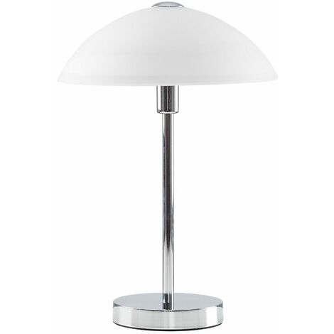 Table Lamp Glass Shade Light