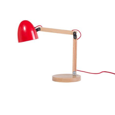 Table Lamp Red VELEKA