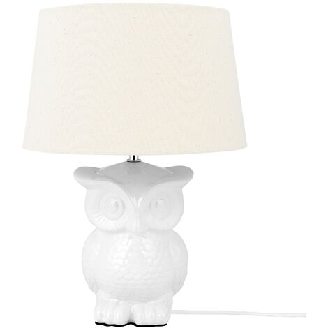 Table Lamp White OWL