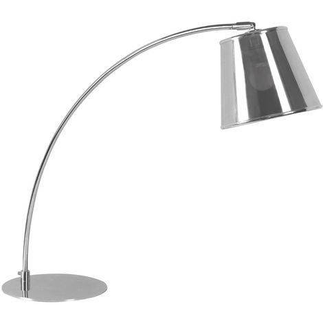 Table Lamp,Chrome,PVC Shade
