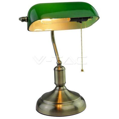 Table lampe couleur bronze/bronze/vert attack e27 3912