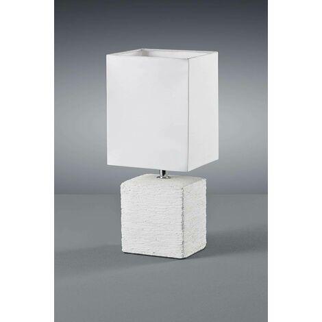 TABLE LAMPE PING EN CÉRAMIQUE COULEUR BLANC R50131001