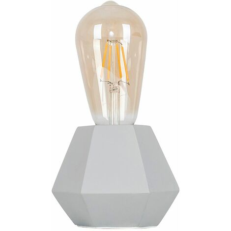 Table Lamps Geometric Base Bedside Lights Vintage