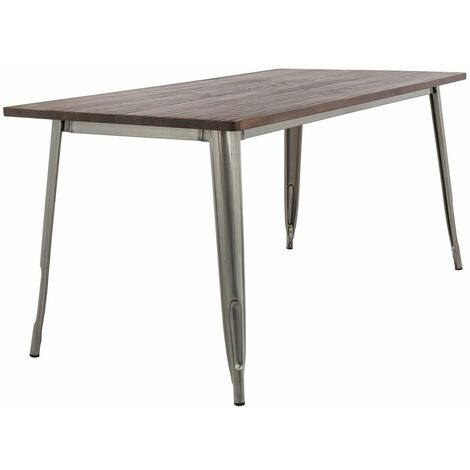 Table LIX Brossée en Bois (120x60)