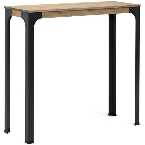 Table Mange debout Bristol – style industriel vintage 80x140x108h cm
