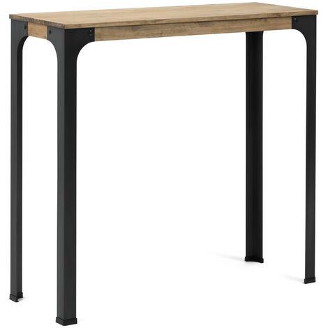 Table Mange debout Bristol – style industriel vintage 80x80x108h cm