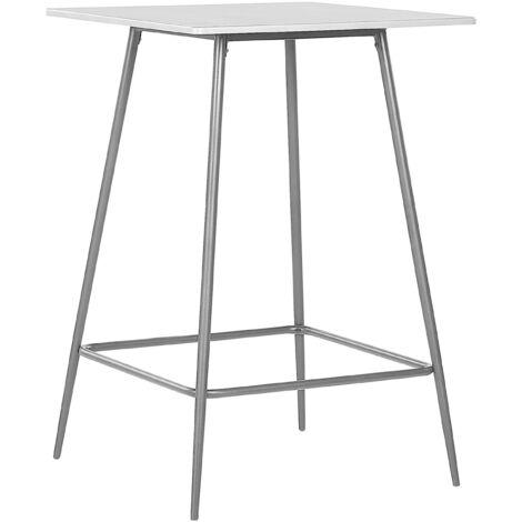 Table mange debout grise et noire 70 x 70 VELTA