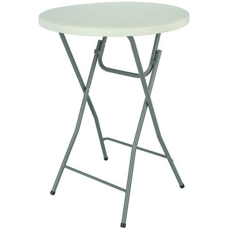 Table Mange Pliage Debout Bar Bistrot Événements Ø 80 cm Hauter 109 cm