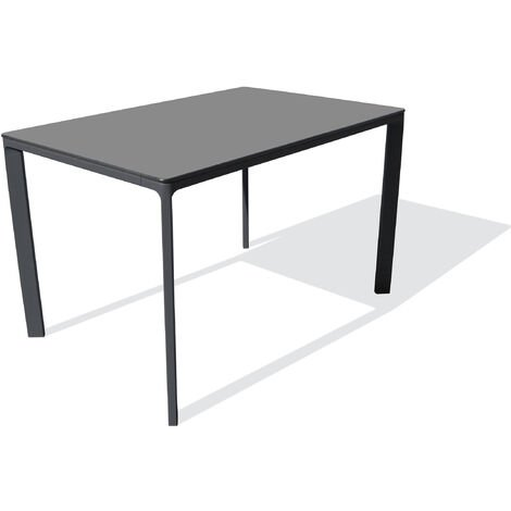 TABLE MEET 120X80 ANTHRACITE - EZPELETA