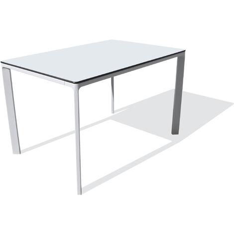 TABLE MEET 120X80 BLANC - EZPELETA