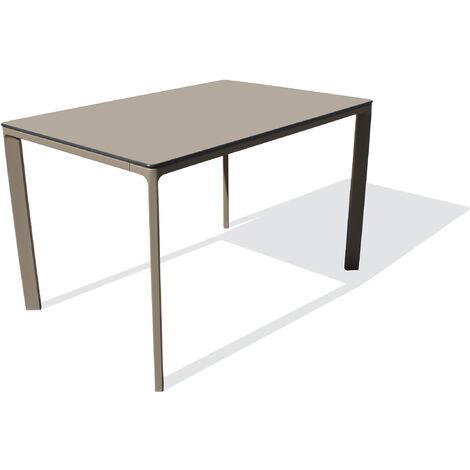 TABLE MEET 120X80 TAUPE - EZPELETA