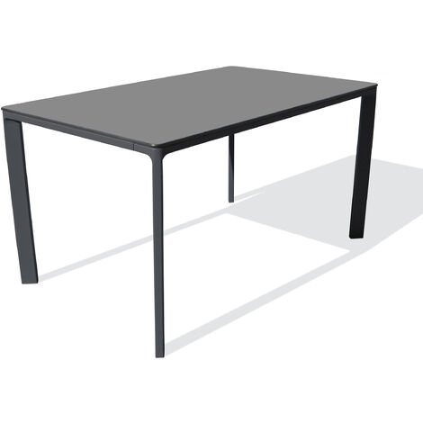 TABLE MEET 160X90 ANTHRACITE - EZPELETA